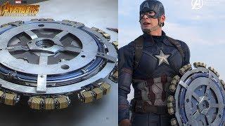 MARVEL OFFICIALLY Reveals The Shield Tony Stark Made For Captain America - AVENGERS INFINITY WAR