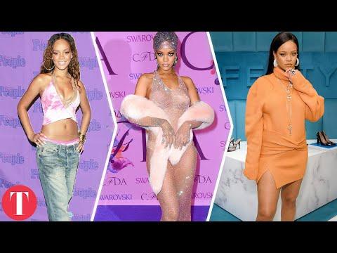 Од надежна ѕвезда до модна икона - неверојатната модна еволуција на Ријана