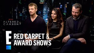 """""""Altered Carbon"""" Stars Reveal Acting Firsts on Sci-Fi Show 