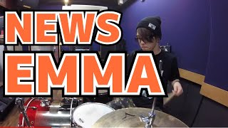 【NEWS】「EMMA」を叩いてみた【ドラム】