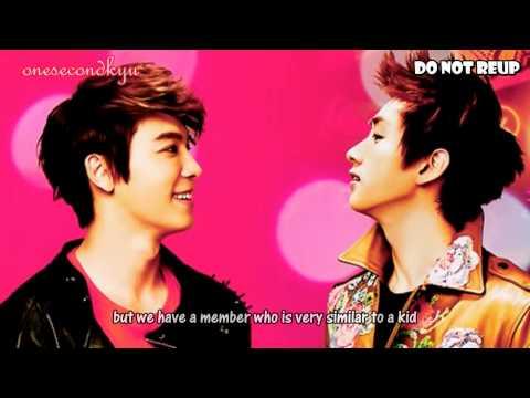 ENGSUB 110807 KTR Childish Donghae & Eunhyuk's slip of tongue