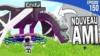 J'AI RAMENÉ UN ENDER DRAGON DANS MA BASE ?!   Minecraft Moddé S4   Episode 150