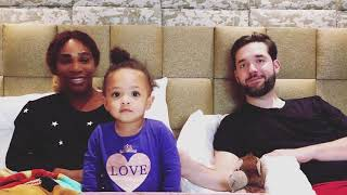 Serena Williams & Alexis Ohanian's Daughter Alexis Olympia Playing Football - Serena Williams Family