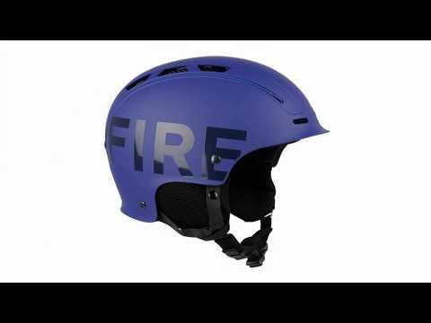 BOGNER Fire + Ice Freeride Ski Helmet In Blue