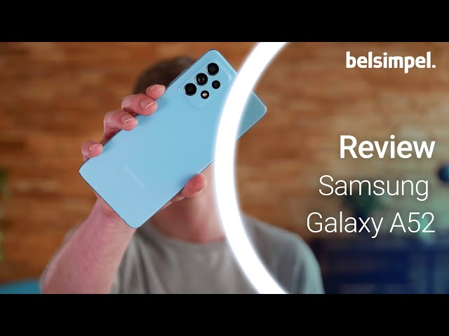 Belsimpel-productvideo voor de Samsung Galaxy A52 5G A526 Wit