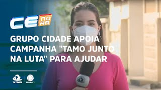 """Grupo Cidade apoia campanha """"TAMO JUNTO NA LUTA"""" para ajudar famílias carentes"""