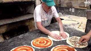 Food in Rome - Wood Fired Pizza - Italy
