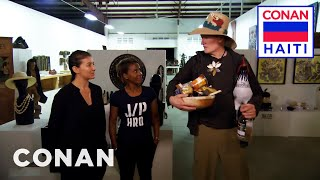 Conan Meets The Entrepreneurial Women Of D.O.T. & Prestige Beer  - CONAN on TBS