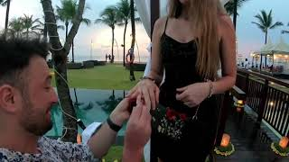 #traveling #together The best and romantic proposal in Bali, Michael&Martina 2019