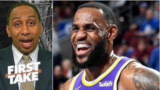 LeBron surpassing Jordan in points cements him as one of the greatest ever - Stephen A. | First Take