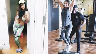 Sri Reddy Hot Navel Workout and Lifestyle Compilation