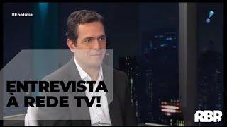 Dialethos Eventos - Eduardo Mufarej - Co-Fundador do RenovaBR, em entrevista à Rede TV