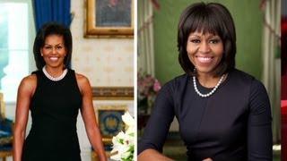 Michelle Obama's new portrait