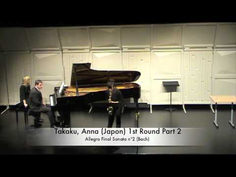 Takaku, Anna (Japon) 1st Round Part 2