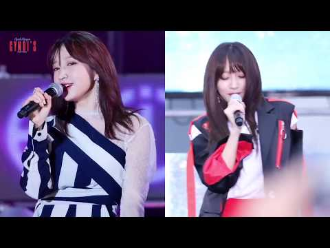 Nữ thần fancam Hani (EXID) cuốn hút trên sân khấu (Night Rather Than Day Hani CUT)