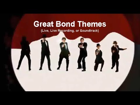 50 Years of James BOND / Compilation of the Great Theme Songs with Movie Clips (1 Hour)