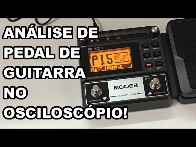 MUITO INTERESSANTE: VEJA OS SINAIS DE UMA PEDALEIRA DE GUITARRA!