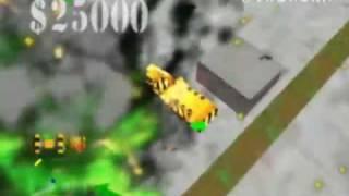 Blast Corps - N64 Gameplay