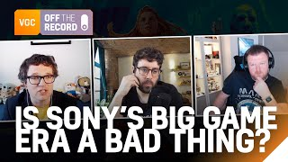 Is Sony's blockbuster obsession a bad thing? | VGC Off The Record