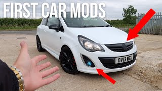 TOP 6 MODS TO DO TO YOUR FIRST CAR!