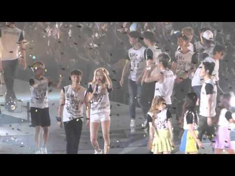 SNSD Yoona Ending @ SMTown in Osaka 150726