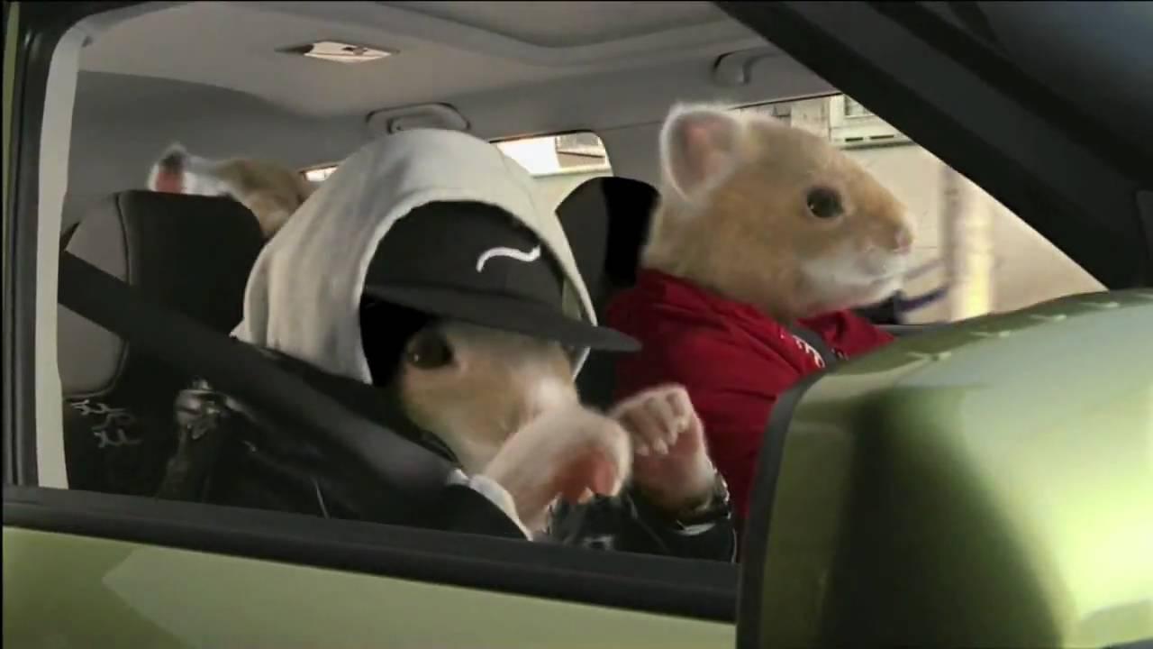 """Kia Soul Commercial >> Kia Motors """"Hamster Rap"""" 2010 Commercial - YouTube"""