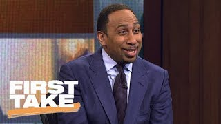 Stephen A. Smith laughs at Will Cain saying Cowboys are 'returning to greatness' | First Take | ESPN