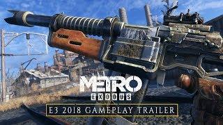 Metro Exodus - Геймплейный трейлер E3 2018 [RU]