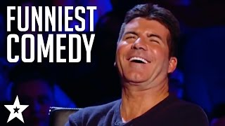 TOP 5 COMEDIANS on Britain's Got Talent! Try Not To Laugh!   Got Talent Global