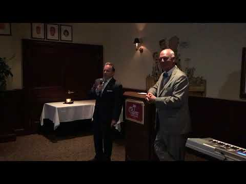 Forza Insurance Group CEO, John D'Angelo III, Speaks During Atlantic City Mayor Don Guardian Event