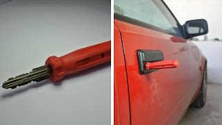 DIY screwdriver key - stolen car look