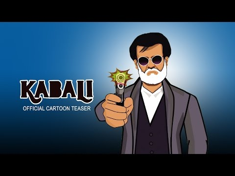 Kabali  Movie |  Official Cartoon Teaser  |By MMK