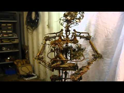 Rob Higgs - Humanoid clockwork robot automaton for The Best Offer (Giuseppe Tornatore)