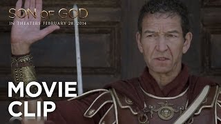 'Son Of God' Movie Clip | No King But Caesar