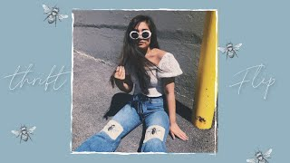 THRIFT FLIP//upcycling old jeans and dresses