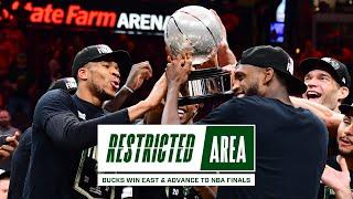 All-Access: Bucks Win East & Advance To NBA Finals | Exclusive Giannis & Khris Locker Room Footage