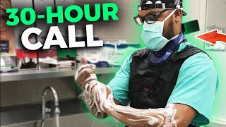 30 hours on Call | Life as a Chief Resident on Trauma Surgery