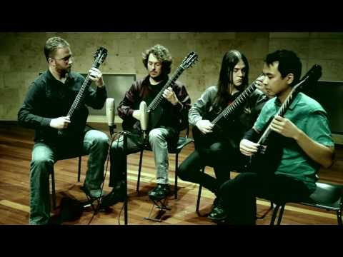 San Francisco Guitar Quartet play Marenje by Mark Knippel