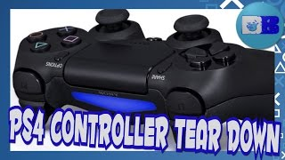 How to take apart a PS4 Controller
