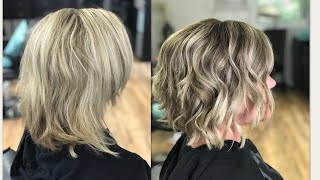HOW TO DO A PANEL LOWLIGHT TO BREAK UP BLONDE | 2018