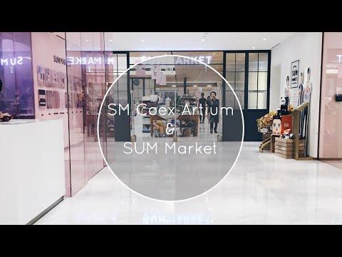 Korea Vlog #2: SM Coex Artium & SUM Market