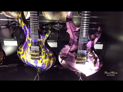 ESP Booth Walkthrough - NAMM 2016