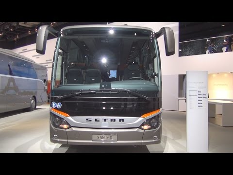 Setra ComfortClass S 516 MD Bus Exterior and Interior in 3D
