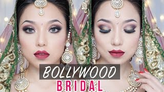 Bollywood Bride Makeup - How to do it by yourself | Easy