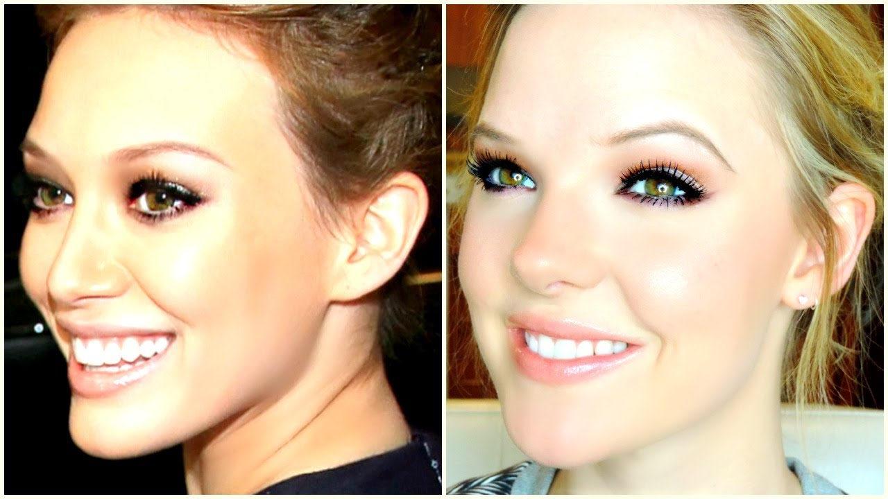 hilary duff makeup tutorial - photo #1