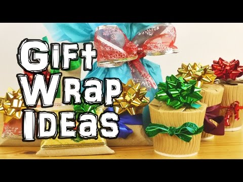 Овој човек смислил генијален начин како да ги завитка подароците со невообичаена форма