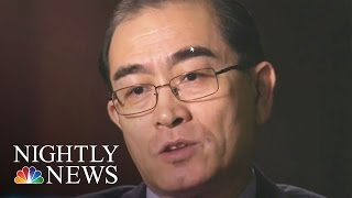 North Korean Defector To Lester Holt: I'm A Marked Man | NBC Nightly News