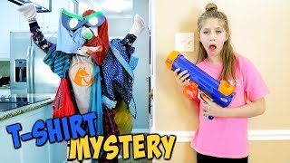 The Missing T Shirt Mystery! Hope vs the Laundry Mound SuperHeroKids Funny Comic in Real Life Skits