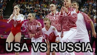 USA vs. Russia || Team Finals