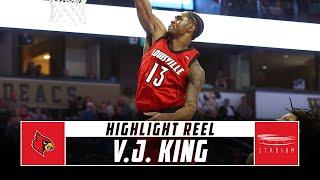 V.J. King Louisville Basketball Highlights - 2018-19 Season | Stadium
